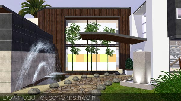 Maison Moderne Sims 3. Maison Moderne Sims 3 With Maison Moderne ...