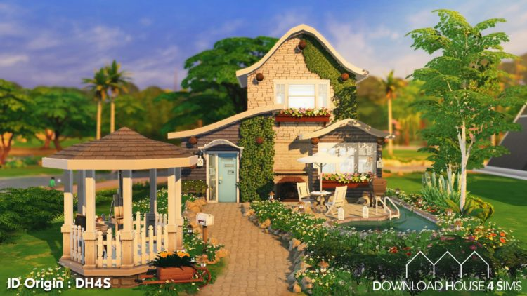 Download House for Sims Maison champêtre