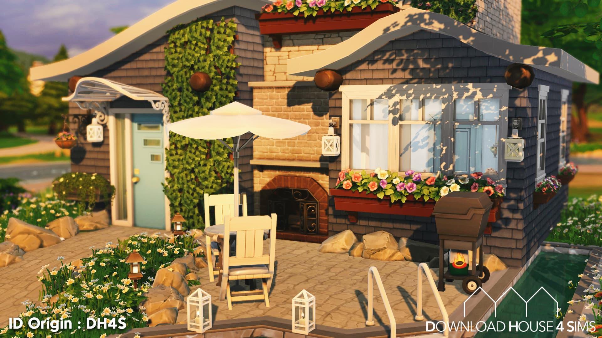 Download House for Sims Maison champêtre