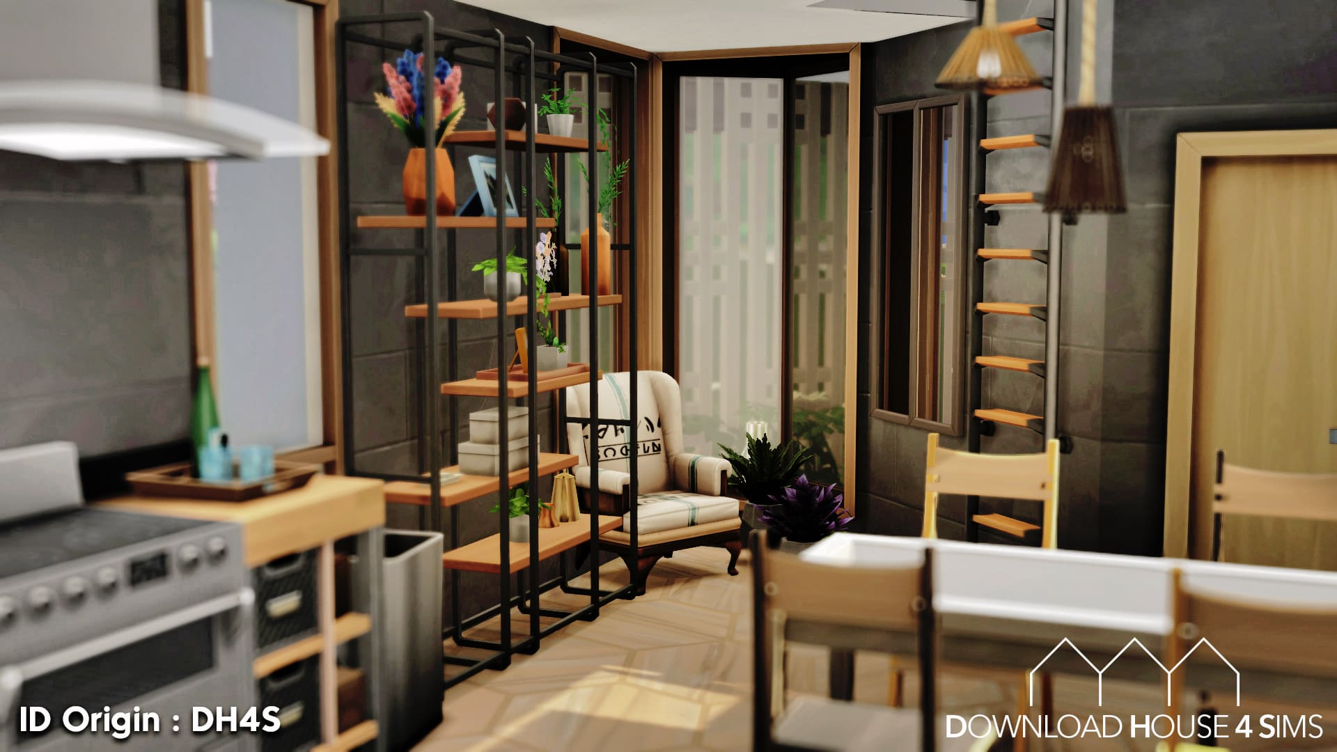 Download House for Sims - Container Eco House