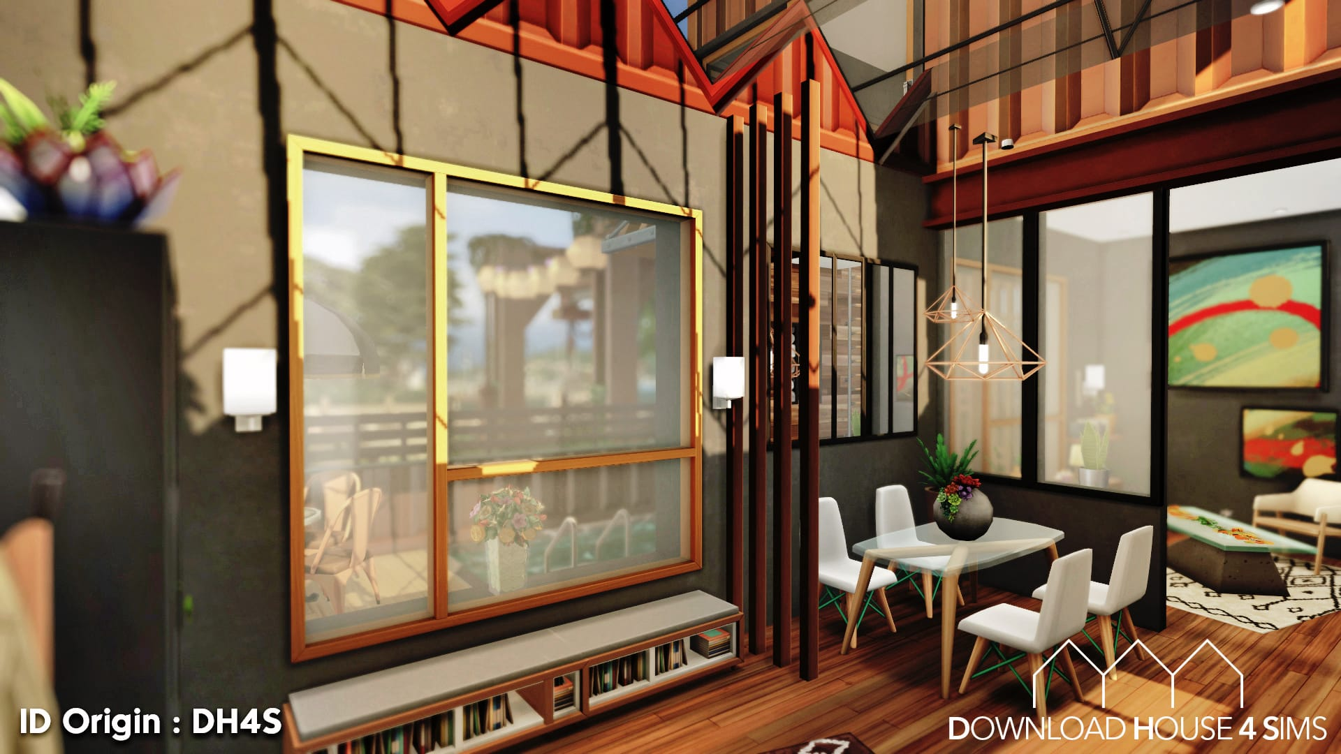 DH4S-Download-house-for-sims-dock-container-eco-house-14