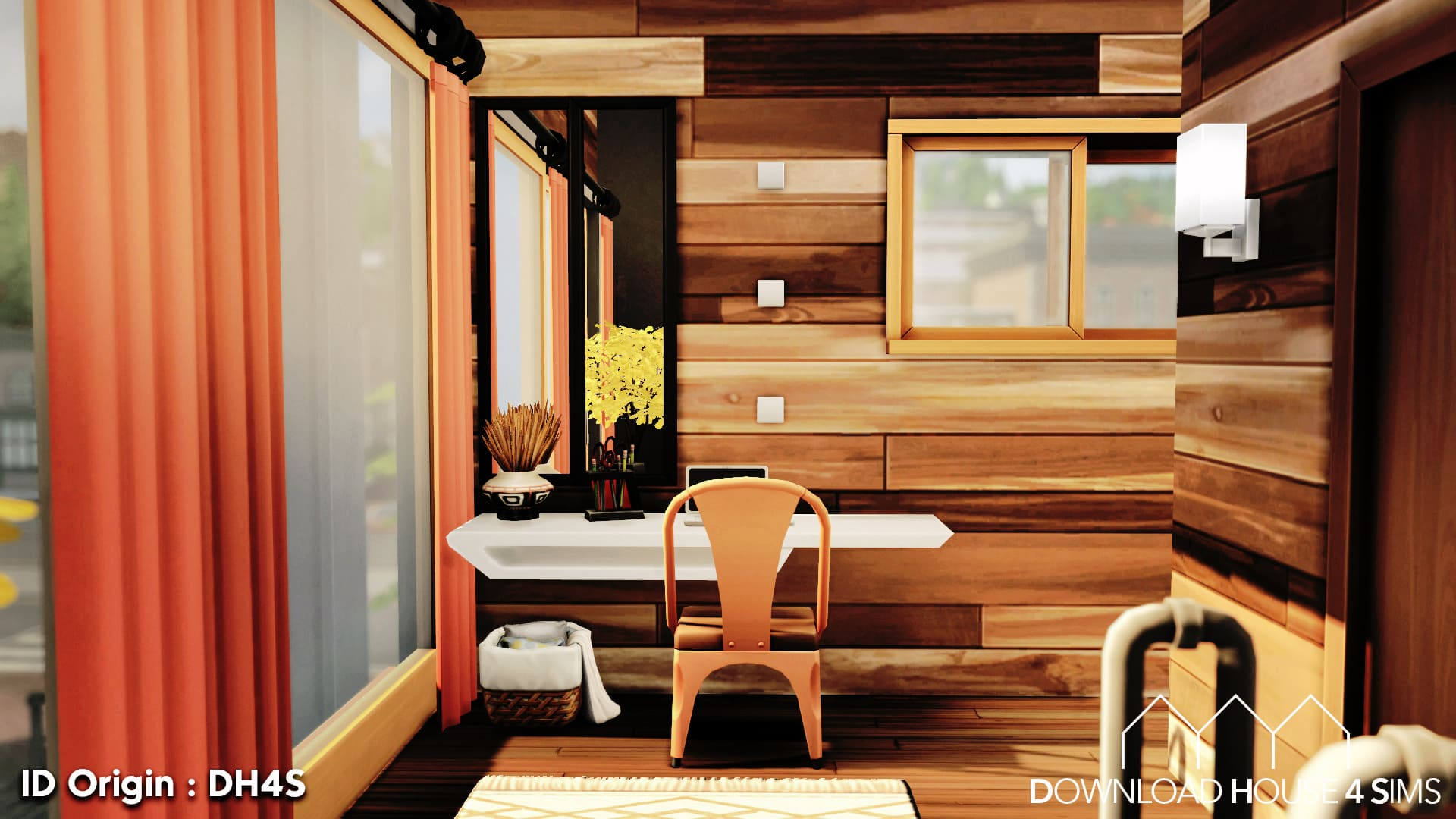 DH4S-Download-house-for-sims-dock-container-eco-house-18