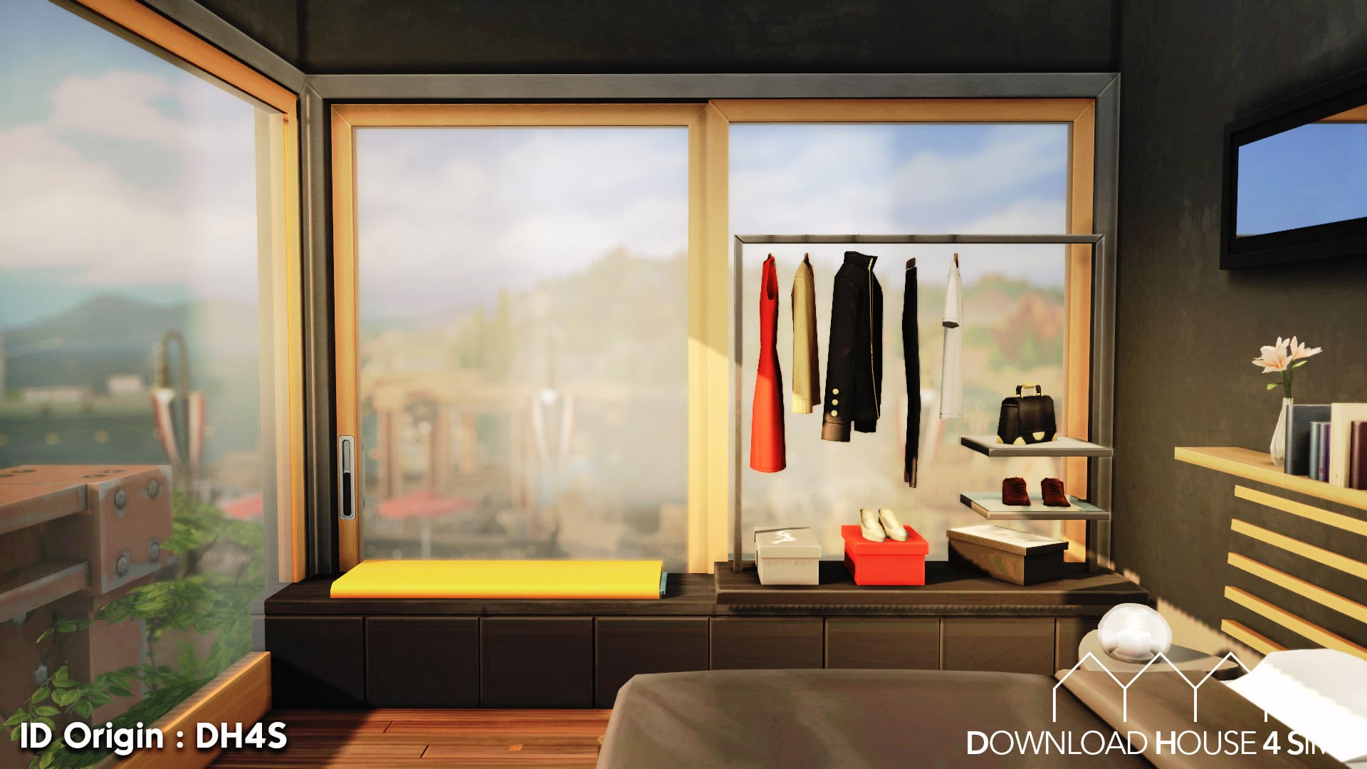 DH4S-Download-house-for-sims-dock-container-eco-house-22
