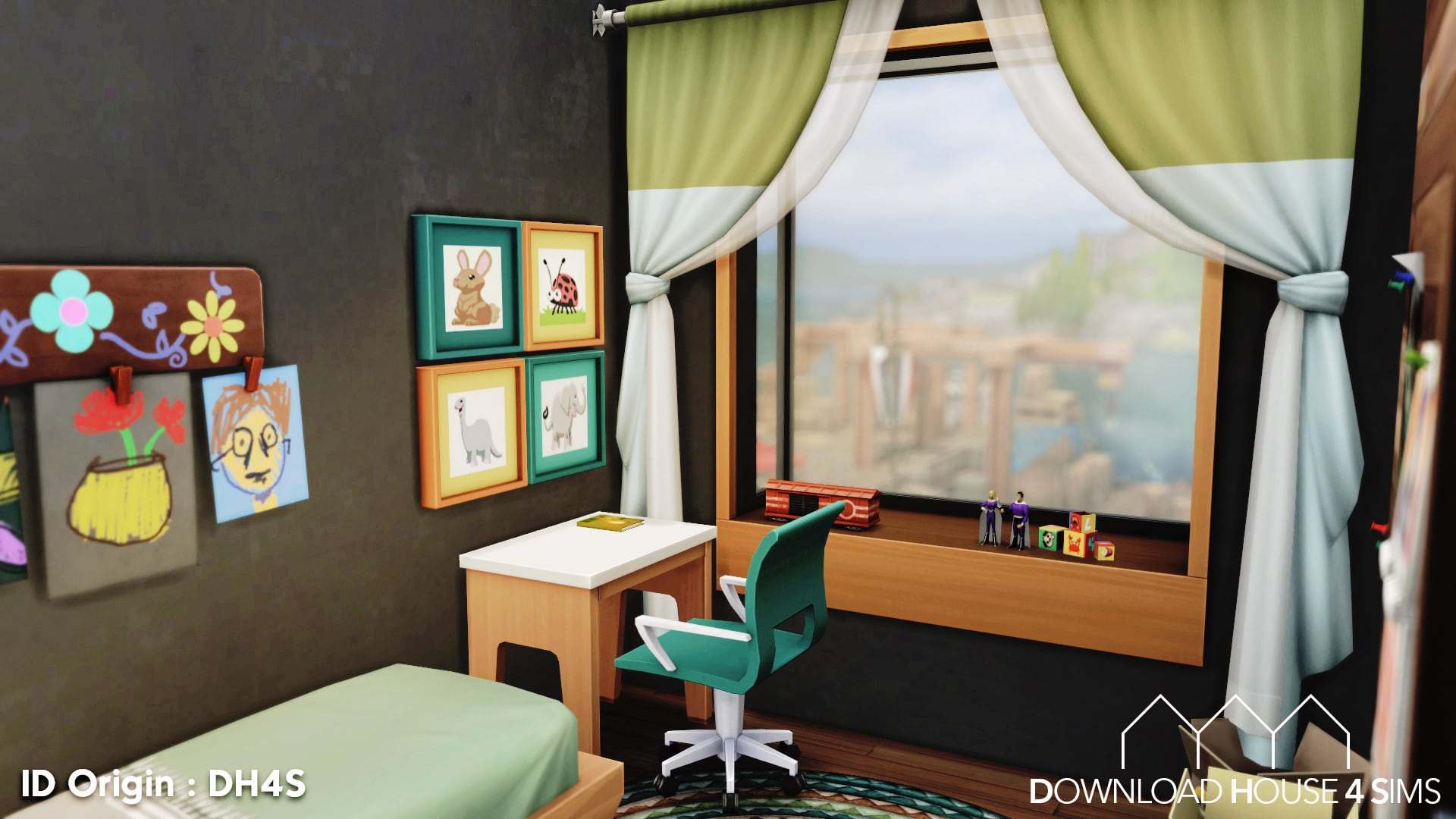 DH4S-Download-house-for-sims-dock-container-eco-house-24