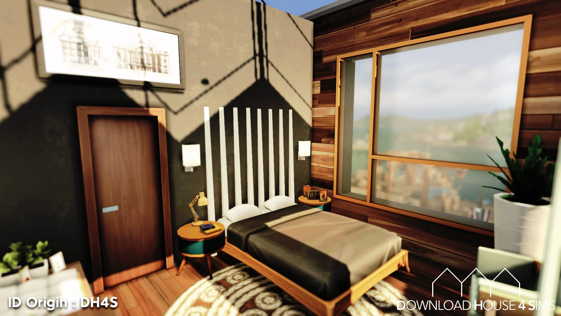 DH4S-Download-house-for-sims-dock-container-eco-house-26