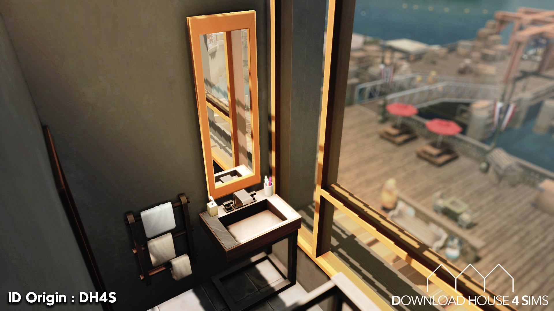 DH4S-Download-house-for-sims-dock-container-eco-house-28