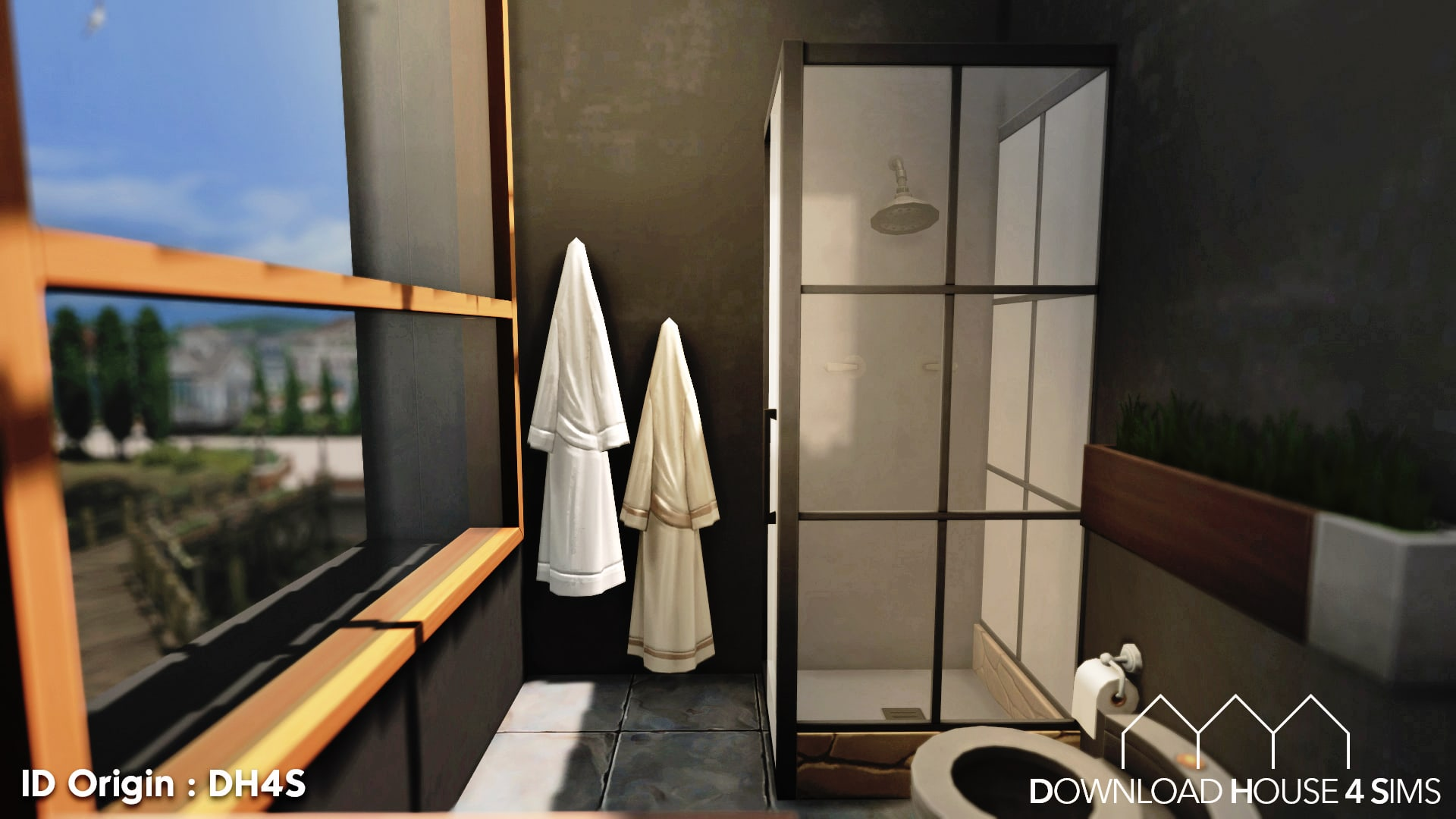 DH4S-Download-house-for-sims-dock-container-eco-house-29