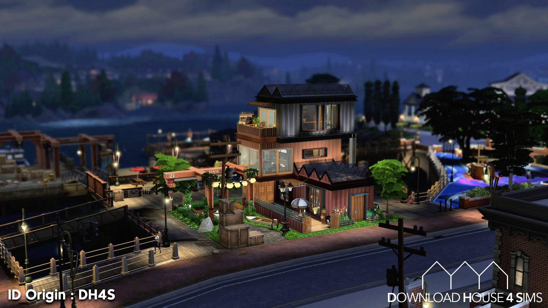 DH4S-Download-house-for-sims-dock-container-eco-house-32