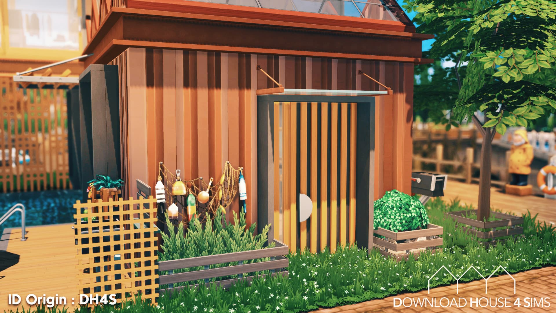 DH4S-Download-house-for-sims-dock-container-eco-house-4