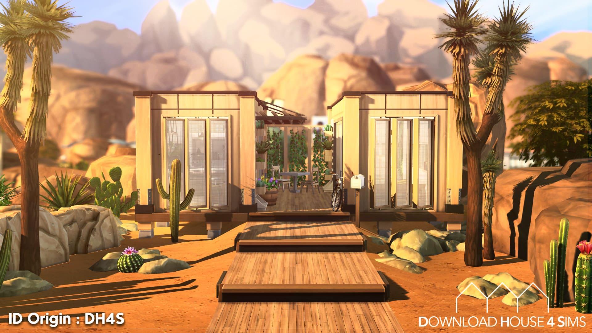 Desert-Eco-House-Sims-4-Ecologie-1