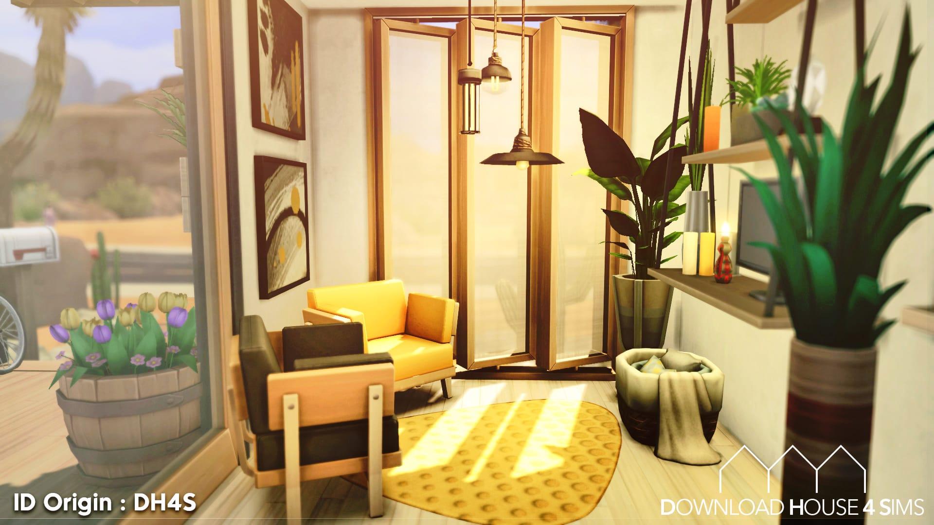 Desert-Eco-House-Sims-4-Ecologie-6