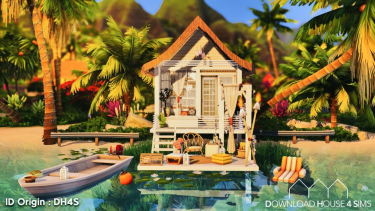 Download-House-4-sims-Tiny-beach-cabin-house-1