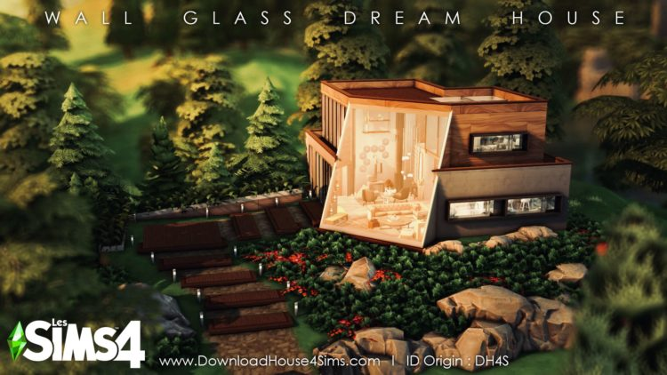 Youtube wall glass dream house