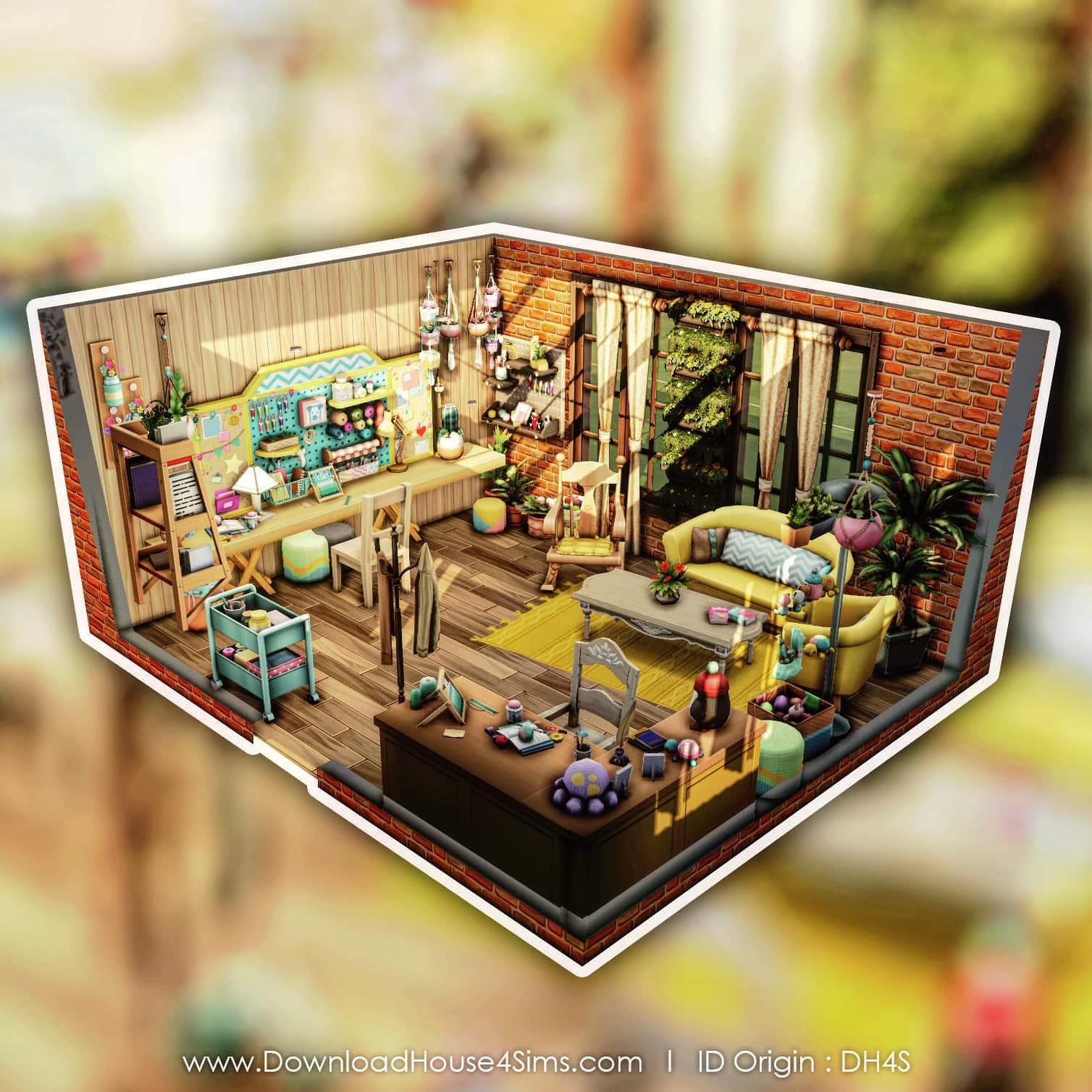 room DH4S nanny knitting atelier grand mère tricot de pro (2)