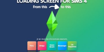 10 beautiful gradient colorful loading screen