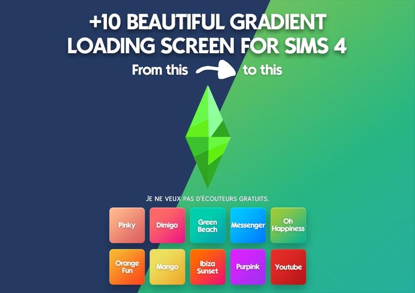 10 beautiful gradient colorful loading screen